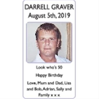 DARRELL GRAVER