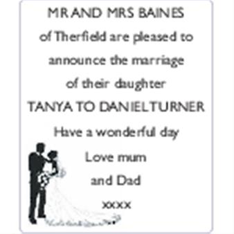Tanya Baines and Daniel Turner