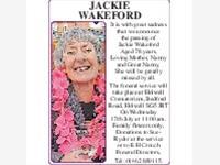 Jackie Wakeford