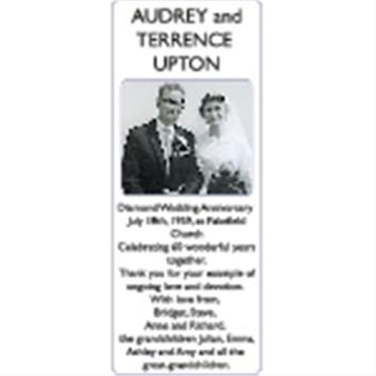 AUDREY and TERRENCE UPTON