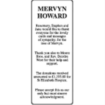 Mervyn Howard