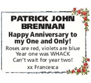 Patrick John Brennan