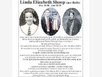 LINDA ELIZABETH SHOOP