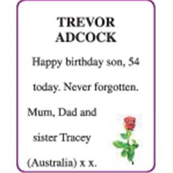 TREVOR ADCOCK