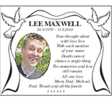 LEE MAXWELL
