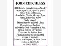 JOHN RETCHLESS