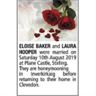 ELOISE BAKER and LAURA HOOPER