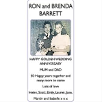 RON and BRENDA BARRETT
