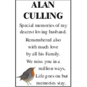 ALAN CULLING