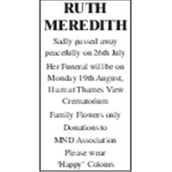 Ruth Meredith