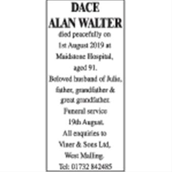 DACE ALAN WALTER