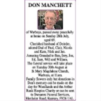 DON MANCHETT