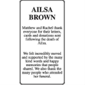 Ailsa Brown