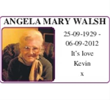 Angela Mary Walsh