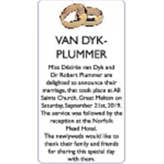 VAN DYK-PLUMMER