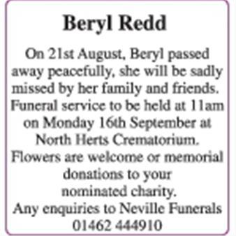 Beryl Redd