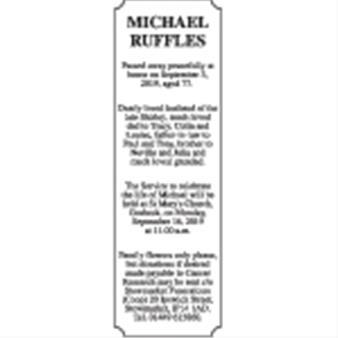 Michael Ruffles