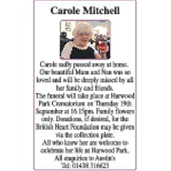 Carole Mitchell