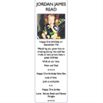JORDAN JAMES READ