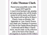 Colin Thomas Clark