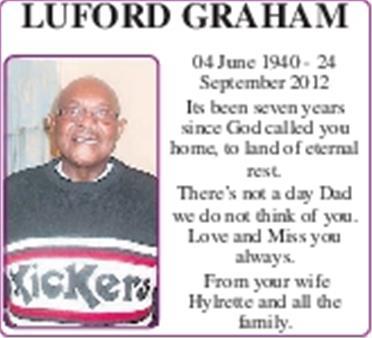 LUFORD GRAHAM