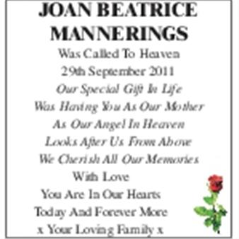 Joan Beatrice Mannerings