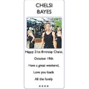 CHELSI BAYES