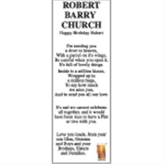 Robert Barry Church