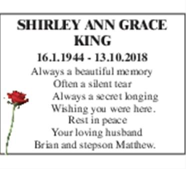 Shirley Anne Grace King