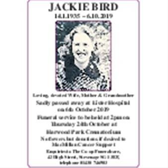 Jackie Bird