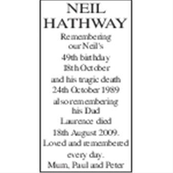 NEIL HATHWAY