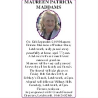 Maureen Maddams