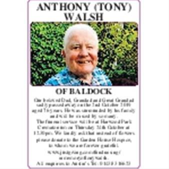 Anthony Walsh (Tony)