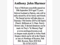 Anthony John Harmer