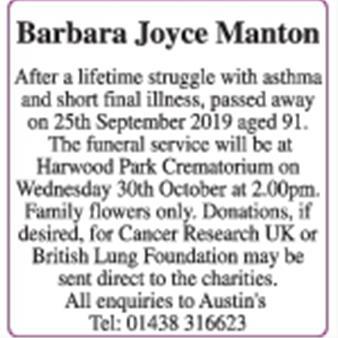 Barbara Manton