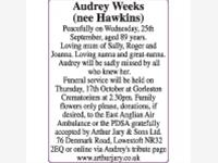 Audrey Weeks