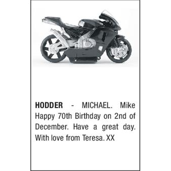 MICHAEL HODDER