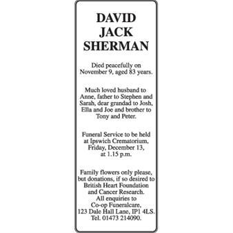 David Jack Sherman