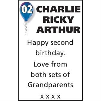 Charlie Ricky Arthur Whiting