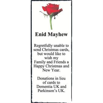 Enid Mayhew