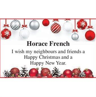 HORACE FRENCH