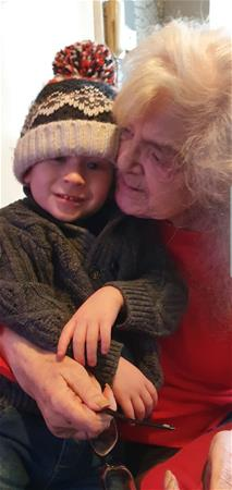 Love & miss you always Nanny ?? Love from Sharron xxx I will never let Alfie forget you either xxx
