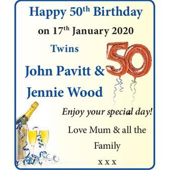 John Pavitt & Jennie Wood