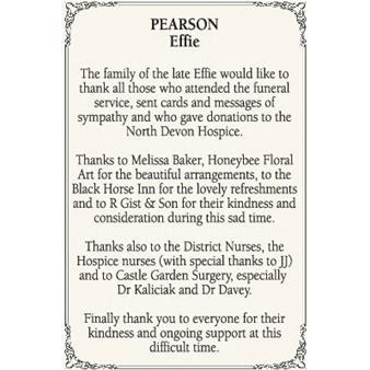 Effie Pearson