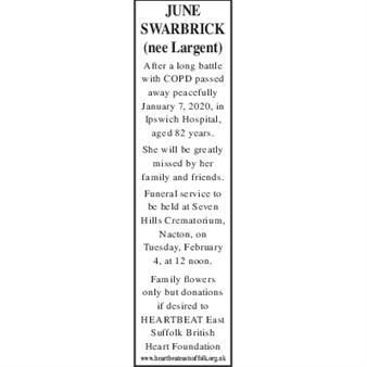 JUNE SWARBRICK