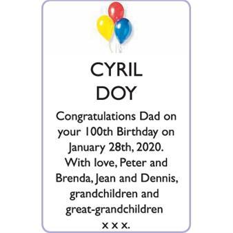 CYRIL DOY