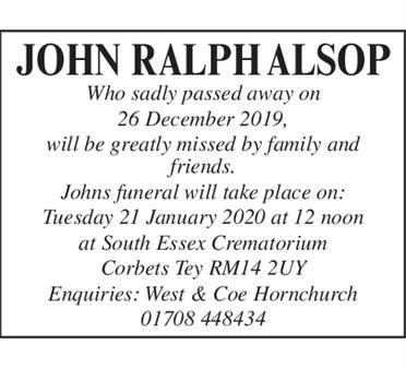 JOHN RALPH ALSPN