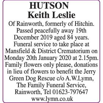 Keith Hutson
