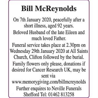 McReynolds - Bill