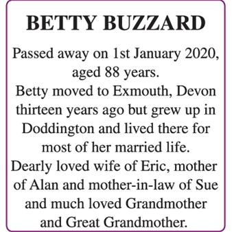 BETTY BUZZARD